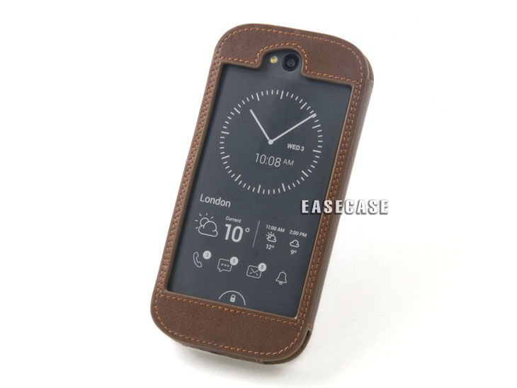 A6 Custom-Made Genuine Leather Case For yotaphone2A6 Custom-Made Genuine Leather Case For yotaphone2