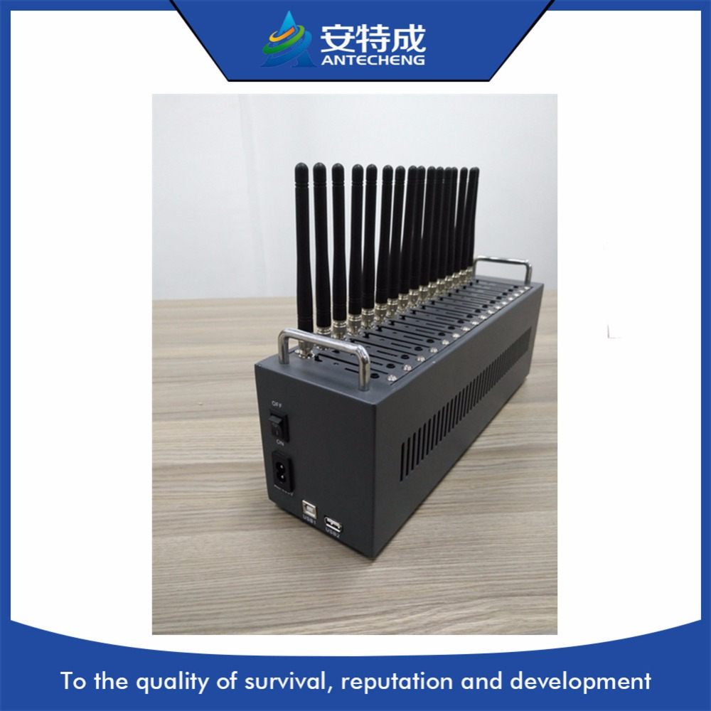 China factoey multi SIM 4g modem  Bulk SMS 4g Lte modem  4g 16 poort modem zwembad-in Modems van Computer & Kantoor op
