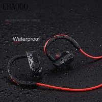Sport Cuffia Bluetooth Auricolari Senza Fili Impermeabile audifonos Bluetooth trasduttore auricolare Stereo bass Auricolare con Il Mic per il telefono