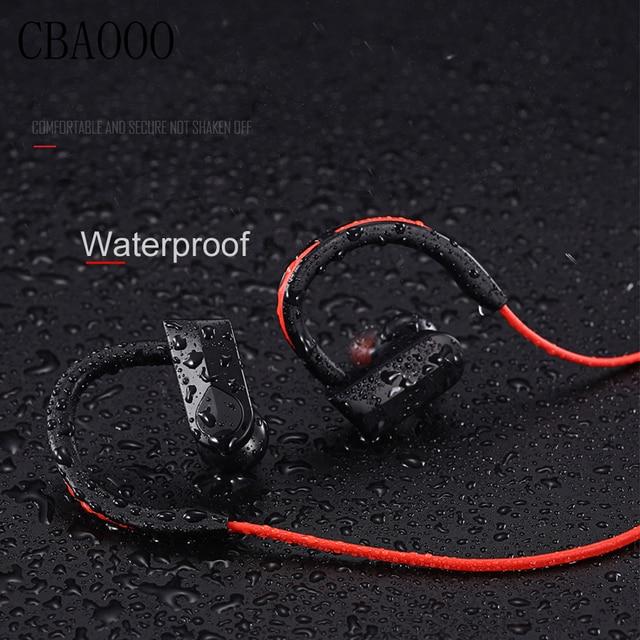Sportowe słuchawki Bluetooth bezprzewodowe słuchawki wodoodporne audifonos słuchawki Bluetooth zestaw słuchawkowy stereo z basami z mikrofonem dla xiaomi