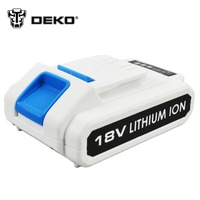 DEKO 18V Cordless Impact Drill DC New Design Mobile Power Supply Lithium Battery