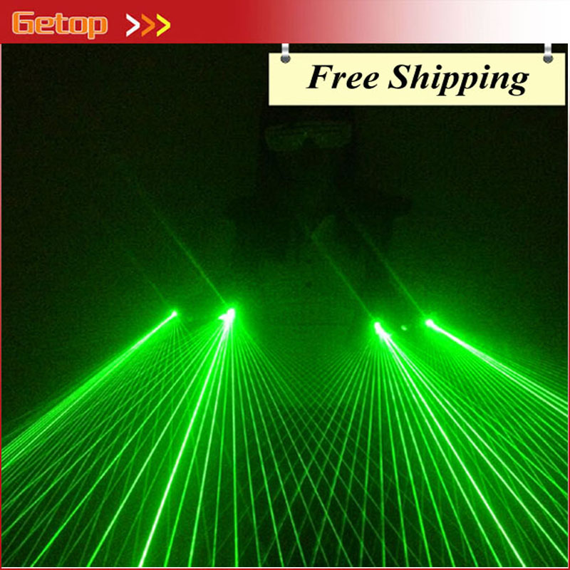ZX Hot Sale Strong Green Laser Glove 40pcs Green Laser DJ Bar Stage Party Laser Dancing Laser Show Glove Event Party Supplies