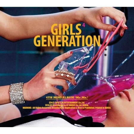 GIRLS GENERATION SNSD - 4TH MINI ALBUM MR. MR. + Sticker (random) Release Date 2014-02-28 KPOP bigbang 2012 bigbang live concert alive tour in seoul release date 2013 01 10 kpop