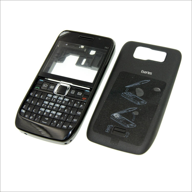 Complete Front Cover E63 Keyboard For Nokia E63 Battery Back Cover High Quality Housing+Keypad