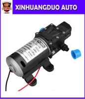 1PCS DC 100W Automatic switch Diaphragm pump high pressure small electric Water Pump 12v/mini 8L/min self priming sprayer pump