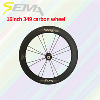 Lifetime Warranty lightweight hubsmith hub carbon wheels 16'' front wheel for carbon clincher wheelset road bike bicycle parts