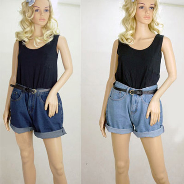 17401d19d Hot Super Cool Women girl High Waisted Oversize plus Crimping Boyfriend  Punk Shorts 2040 Free Shipping-in Shorts from Women's Clothing on  Aliexpress.com ...