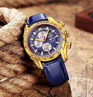 44mm Switzerland Chronograph Sports Watch Swim 2018 Waterproof Military Quartz Wristwatch BINGER Men Watches relogio masculino 1