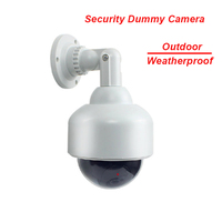 Fayele Security CCTV Outdoor Weatherrpoof Simulation Fake Camera Dummy Dome Camera Surveillance Cheap Price Dummy Camera