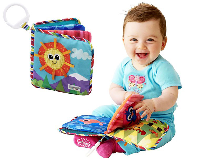 Baby Toys 0-12 Months Educational Baby Quiet Book 15*15 CM Page 4 Soft Brinquedo Para Bebe Toys For Newborns Peluches