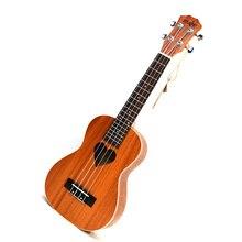 21 inch Ukulele Rosewood Soprano small guitar ukulele 4 string 15 Fret Hawaiian ukelele Acoustic guitar loving heart pattern