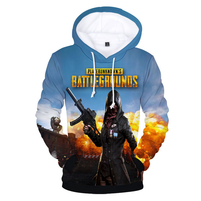 Pubg Playerunknown's Battlegrounds Hoodies