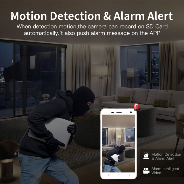 Wireless Security IP WIFI Camera