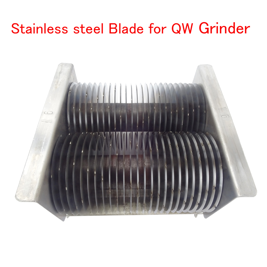 Stainless steel Blade for QW Meat Cutting Machine Meat Cutter for QW Meat grinder / Many Sizes to Choose stainless steel axle sleeve china shen zhen city cnc machine manufacture