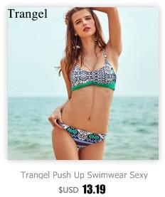 Trangel, новинка, бразильский двусторонний купальник, бикини, сексуальный женский купальник, ананас, серия, с принтом, бикини, Холтер, купальник... 33