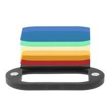 준비 재고 8PCS Selens 캐논 니콘 Yongnuo 플래시 스피드 라이트에 대한 DSLR 카메라에 대한 다채로운 플래시 젤 필터