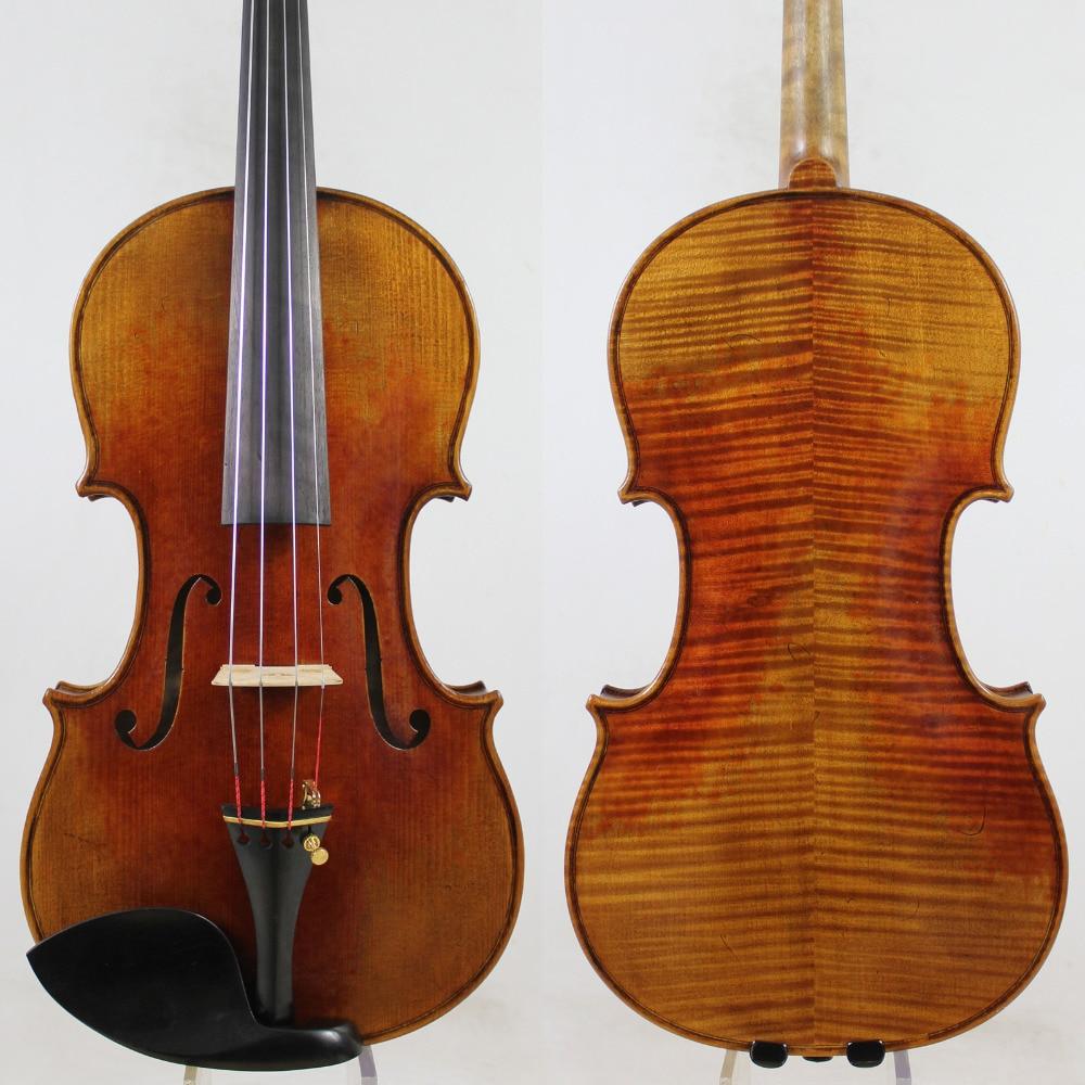 Italia Vernice Ad Olio! UN Grande Stradivari Messia Stile 4/4 Violino! Maestro Tono! M5011, Trasporto Libero di SME!