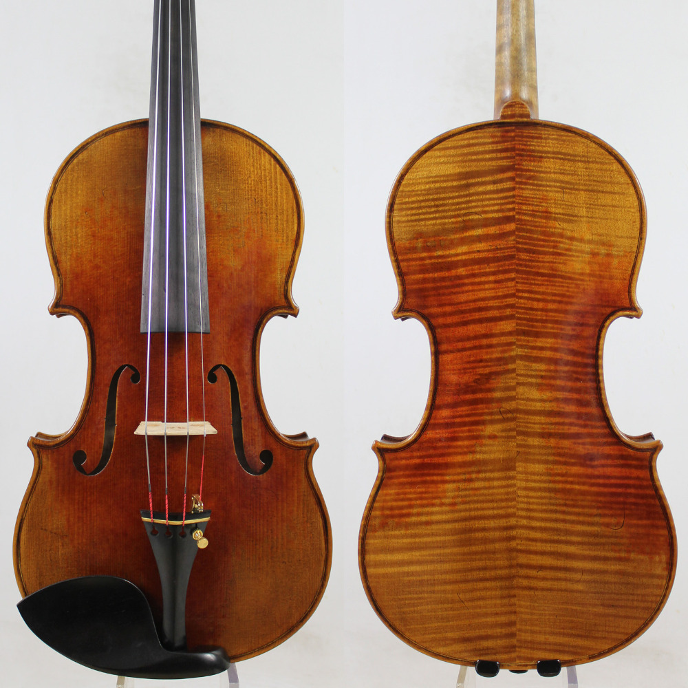 Italie Vernis À L'huile! Un Grand Stradivari Messie Style 4/4 Violon! Ton Maître! M5011, EMS Livraison gratuite!