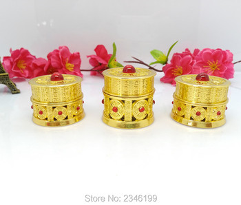5G 5ML Aluminum Cream Jar, Pigment Cosmetic Small Packing Box, Restore Ancient Ways Empty Skin Care Cream Container, 10pcs/Lot