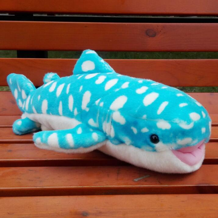 Big Toy Plush Whale Sharks Doll  Simulation Marine Animals Children'S Toys  Puzzle Gifts pilsan puzzle 4x4 animals