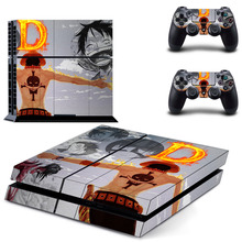 One Piece Decal Vinyl Sticker For Sony PS4
