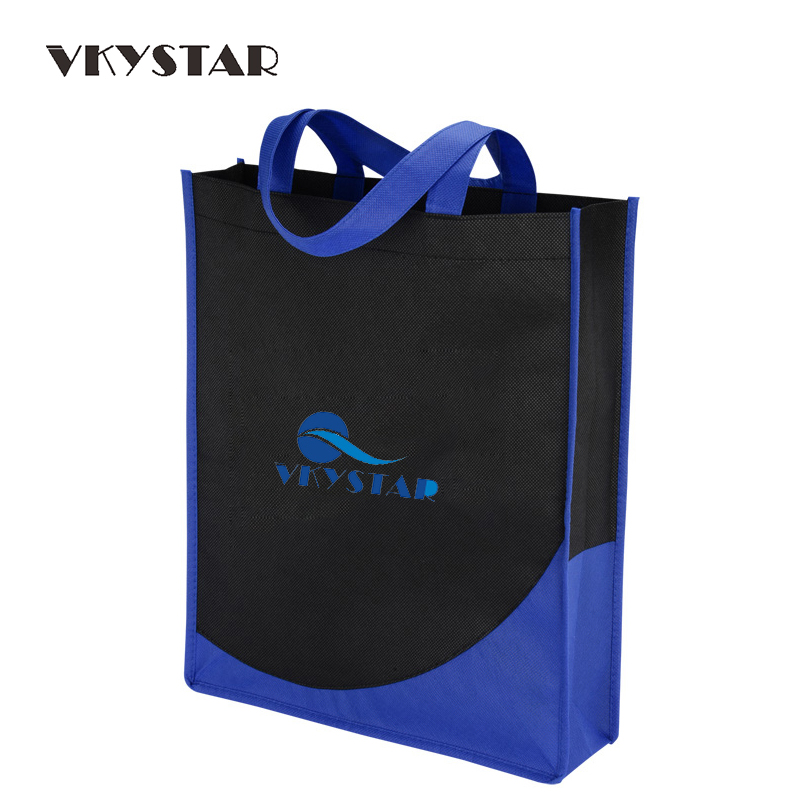 Mens Tote Bag Promotion Shopping Bag Black Women Large Canvas Bag Non-woven American Apparel Bag customizable Printing Pouch 224