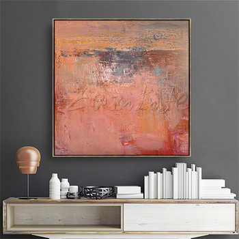Wall Art pictures Hand painted canvas oil paintings modern abstract cuadros Home decor Canvas quadro