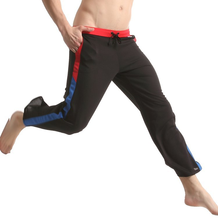 JQK Mens Wholesale Breathable Comfortable Homewear Sweat Absorbing Fabric Casual Pants 322