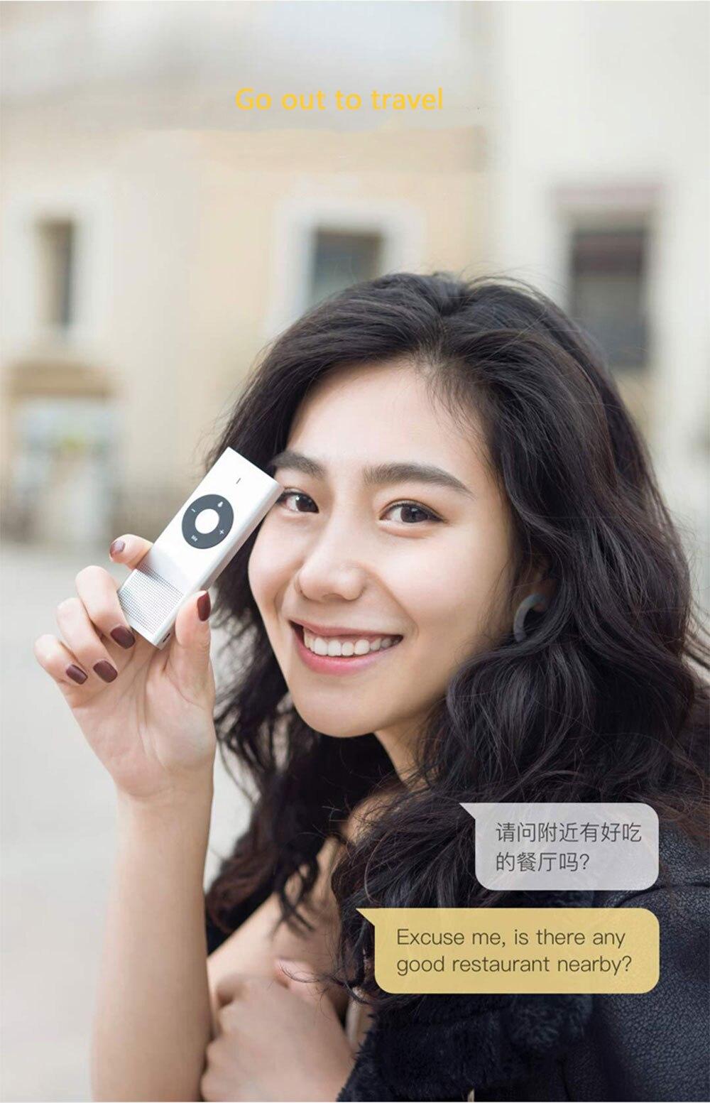 Xiaomi Mijia AI Voice Translator Interpreter (7)