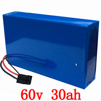 60V 30AH Lithium attery 60V 30AH Electric Bicycle battery 60V 2000W 3000W Scooter battery use samsung cell with 67.2V5A charger