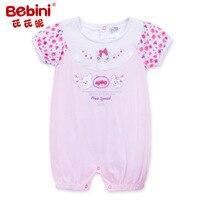 Bebini Original Baby Girl Print Flower Rompers Infant Girl Floral Rompers Newborn Baby Girl Gift Toddle