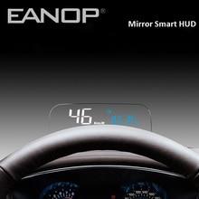 EANOP velocímetro con pantalla de espejo HUD OBD2, medidor GPS, ordenador electrónico para coche, con control del consumo de aceite KMH KPM