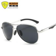 2017 New Brand fashion polarized sunglasses men Classic Retro Driving Glasses Polaroid lenses sun glasses 161