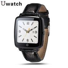 U11c gsm nano tarjeta sim tf tarjeta de cuero pulsera bluetooth smart watch salud podómetro sleep rastreador de ejercicios para el teléfono hombres mujeres