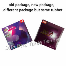 DHS Hurricane3 ( Hurricane 3, DHS h3 ) Pips In Table Tennis Rubber for ping pong table tennis racket rubber(China)