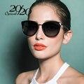 20/20 gafas de sol Polarizadas de las mujeres de Estilo Retro Marco de Metal Gafas de Sol Famoso Diseñador de la Marca Señora Oculos Feminino 7051