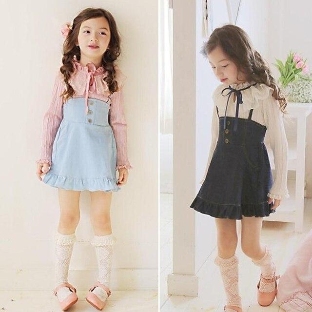 Korean Children's Clothing 2018 Spring Baby Gril Clothes ... Korean Toddler Clothes