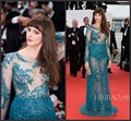 2015 68th The Cannes Film Festival Frederique Bel Prom Dress Sexy See Through Sequins Beading Evening Dress Celebrity Dress u1