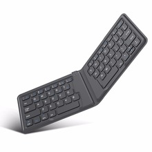 MoKo Wireless Bluetooth Keyboard,Ultra Thin Foldable Rechargeable Keyboard for iPhone,iPad 9.7, iPad pro, Fire HD 10,for All iOS