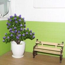 flower home decoration decorative bonsai factory direct marketing professional wholesale simulation plastic pot quality