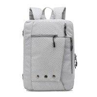 2017 Ozuko Nylon Notebook Backpack 15 6 17 3 Inch Waterproof Computer Backpack For Men Women