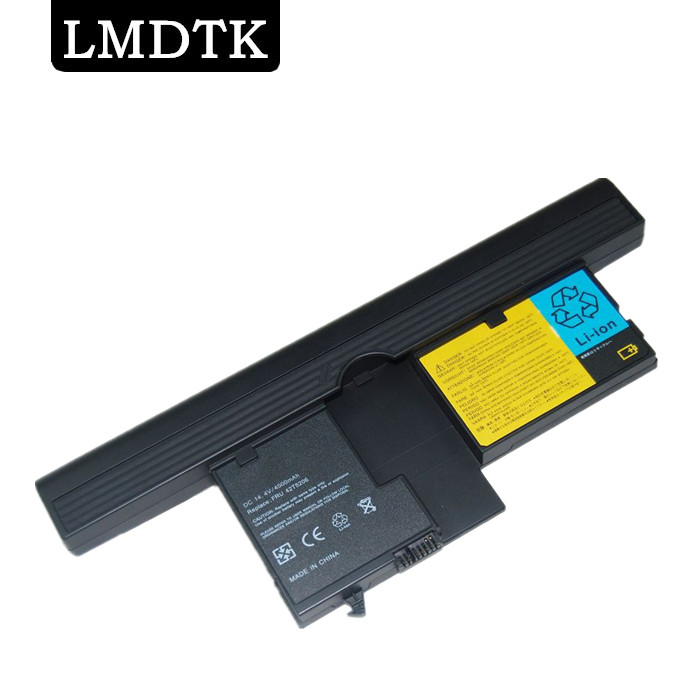 все цены на  LMDTK New 8CELLS laptop battery for ibm lenovo thinkpad x60 x61 Tablet PC series  FRU-42T5208 FRU-42T5251  FREE SHIPPING  онлайн