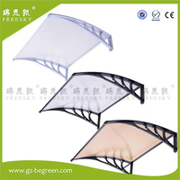 YP60160 60x160cm 60x240cm 60x320cm Door Window Outdoor Awning Polycarbonate Patio Sun Shade Cover Canopy