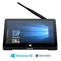Original Pipo X9S Win 10 Mini PC Intel Cherry Trail Z8300 Quad Core 4G 64G Smart