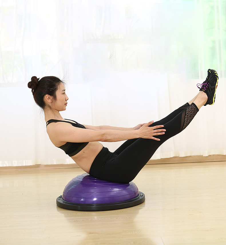 Perfect yoga ball with pump stress balls with string half balance ball trainer - 2