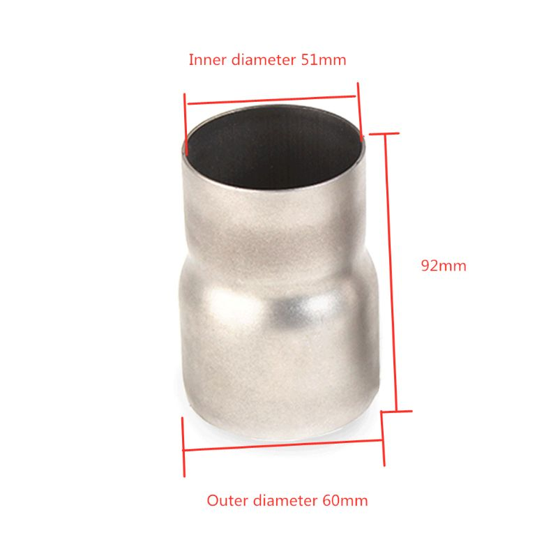 4 id to 5 od exhaust reducer adapter