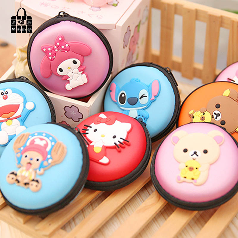 Rose Diary Cartoon silicone waterproof headphones/keys/zero wallet coin purses child girl women lady change purse,coin bag rose diary new fresh pool party cute silicone zipper bags zero wallet child girl boy purse lady women coin wallets pouch case