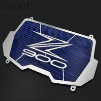 Bjmoto Free Shiping Stainless Steel Motorcycle Radiator Guard Radiator Cover For Kawasaki Z900 2017 Motocross