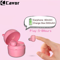 Bass Music Wireless Bluetooth Earphone for LG G6 G7 V30 Q6 V10 K4 K7 K8 K10 Case Etui Cute Earpiece Earbud And Charge Power Bank