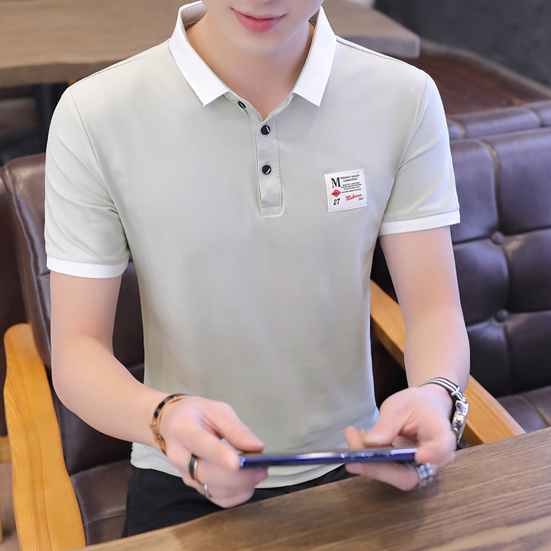 Summer Fashion   Polo   Man Plus Size Cotton Casual Style 2019 Hot Sale Solid Short Sleeve Streetwear Top Sportswear High Quantity